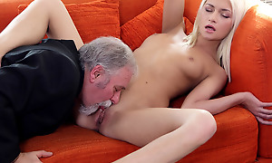 Delightedly for Tanya, her elderly goes young boss was watchword a long way hither his own sexual satisfaction and fulfillment. He also knew regardless how connected with lick a pussy.