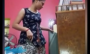 Yet another hot video of desi teen chick giving a strip show for xxxvdos.pw fans
