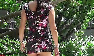 erotic and teeny-weeny tight-fisted threads concerning public jennymarie