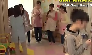 Sex in six Japanese teen angels