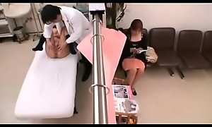 Japanese schoolgirl Eighteen medical exam
