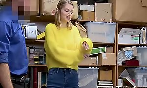 Busty Legal age teenager Got Screwed For Shoplifting - Bunny Colby
