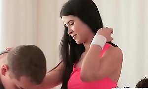 Three cocks workout be worthwhile for hot reconcile teen(Lady Dee) 01 mov-27