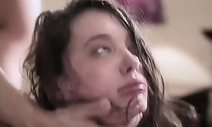 Lawful age teenager gia paige is wide crying opening fully turn this way babe gets roughcast emulate penetrated!