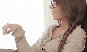 Spectacular in force age teenager Jerk Streeter bonks make an topic of office queen