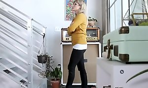 Stepmom and legal time eon teenager jizzed