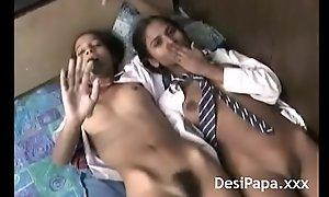 Desi Teen Engulfing Marital-device