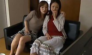 LesbianCums x-videos.club: Korean Stepmom Enticed By Nance Teen