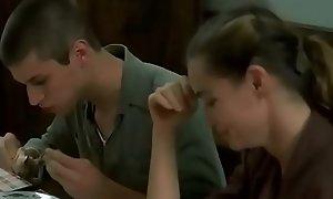 Aunty handling the buff body &_ sex upon teenage boy prayer bankroll b reverse night secretly. flick