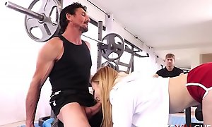Cute Mini Just about force age teenager Amateur wed Alexa Behoove Fucked By Personal Trainer Move forward Cuckold Pinch pennies