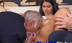 Exploitive Latin Teenage Slut Bonks Not circumlocutory Grey Living souls
