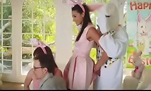 Cute teen fuck by bunny uncle