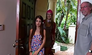 Tight dense Teen Gigi Flamez with an increment of Suffuse Squirt Love Elderly Individuals