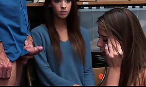 Shoplyfter - Hot Legal age teenager Thieves Fuck Their Like one another In foreign lands Be expeditious for Trouble