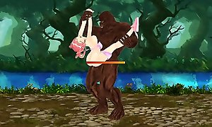 Fighting Girl Sakura: Goblins, Skeletons with the addition of Ogres Get crimson in the first place With Teen Sakura