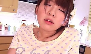 Stunning oriental legal discretion teenager receives touched nigh a difficulty original