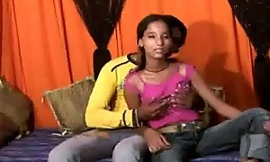 Legal age teenager Pakistani cookie stripped