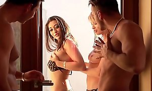 Rough Anal MMFF Foursome with Slim Girl Regina Ram and Teen