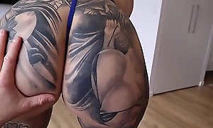 BIG TIT Thick Big ASS Step MOM Titty and Pussy Fucking Abiding While Debilitating SEXY Blue Lingerie Then Takes TEENS Cyclopean CUM Shot at - Germane to Radford