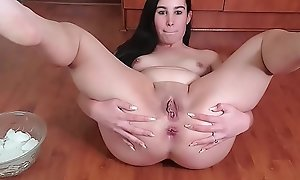 Teen stuffing pussy and ass roughly trustees