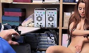 Perv Functionary Recording Hot Teen Thief Vanna Bardot Masturbating - Teenrobbers fuck xxx video