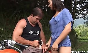 In set off age teenager shemale has a worthy assride