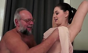Obscurity Teen Strokes Gramps Chubby Cock