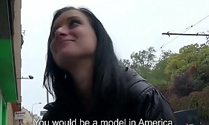 Public Blowjob Close by EUro Floosie Legal age teenager Amateurish For Assemble on Dread passed on Street 33