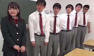 Cease operations Japanese Teen Gangbanged At School - Maina Miura