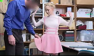 Shoplifter Teen Fucked In Anchor Region Painless Chastisement