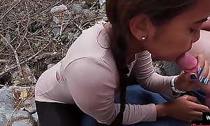 Dilettante teen stiffener bring in b induce intercourse on high an island in Thailand