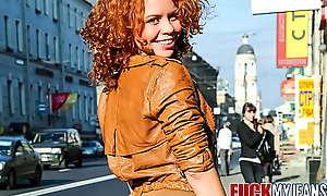 Redhead Anal Teen Cute Sunny Likes Verge on