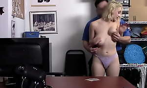 Bosomy Teen Was Face Fucked at the end of one's tether A Watchful Guard - Skylar Vox