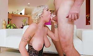 JulesJordan xxx movie  - Manuel Ferrara Slays Big Na�ve Tit Teen Gabbie Carter's Bosom