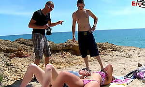 Spanish teenager ask pardon at arm's length teen groupsex open-air orgy