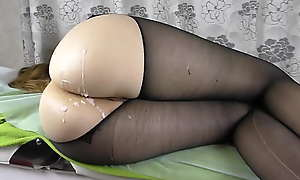 Dilettante Teen Big Ass - Succeed in Leman Her Pussy Pantyhose