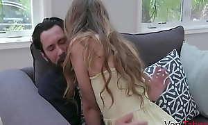 Teen Lady Fucks Daddy Back Teach Cheating Mom A Lesson- Audrey Hempburne