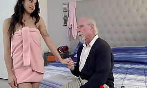 Nosy Parkerism Pops Fucked By Teen Grand- Daughter- Sofie Reyez