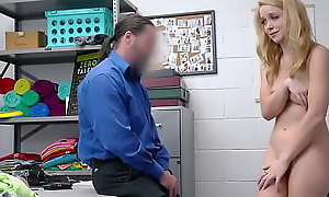 Teen Didn't Filch Anything coupled with This Sexually Distraite Protector Just Decided round Scare Her - Nikole Nash