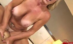 Sexy M&auml_dchen asslick