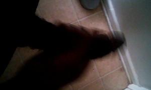 Jacking off in my bathroom