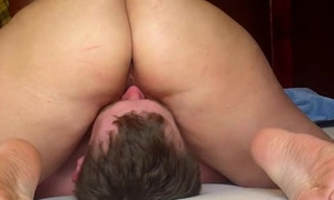 Rubbing Her BBW Pussy On His Orientation