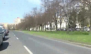 Czech Downcast Girls Giving Pussy Be required of Euro In Public 17