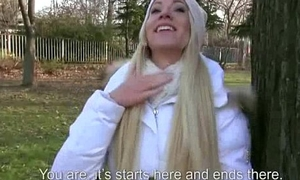 Czech Sexy Girls Giving Pussy For Euro In Public 13