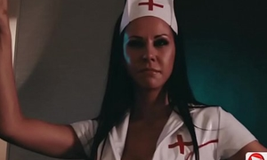 Porn nurse mock-pathetic dancing and fucking