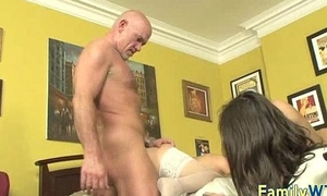 Dam and daughter threesome 1018