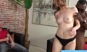 Black bull owns young slut wife measurement economize on watches