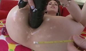 Saleable Sarah Shevon without delay a huge monster cock