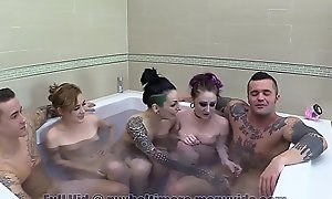 Family Hot Surging Teen Orgy