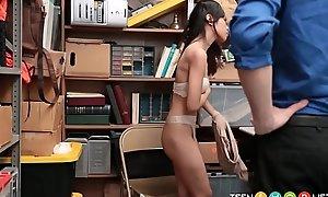 Cute Inseparable Asian Teen Caught Shoplifting
